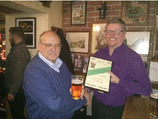 2016 Dunbartonshire Pub of the Year