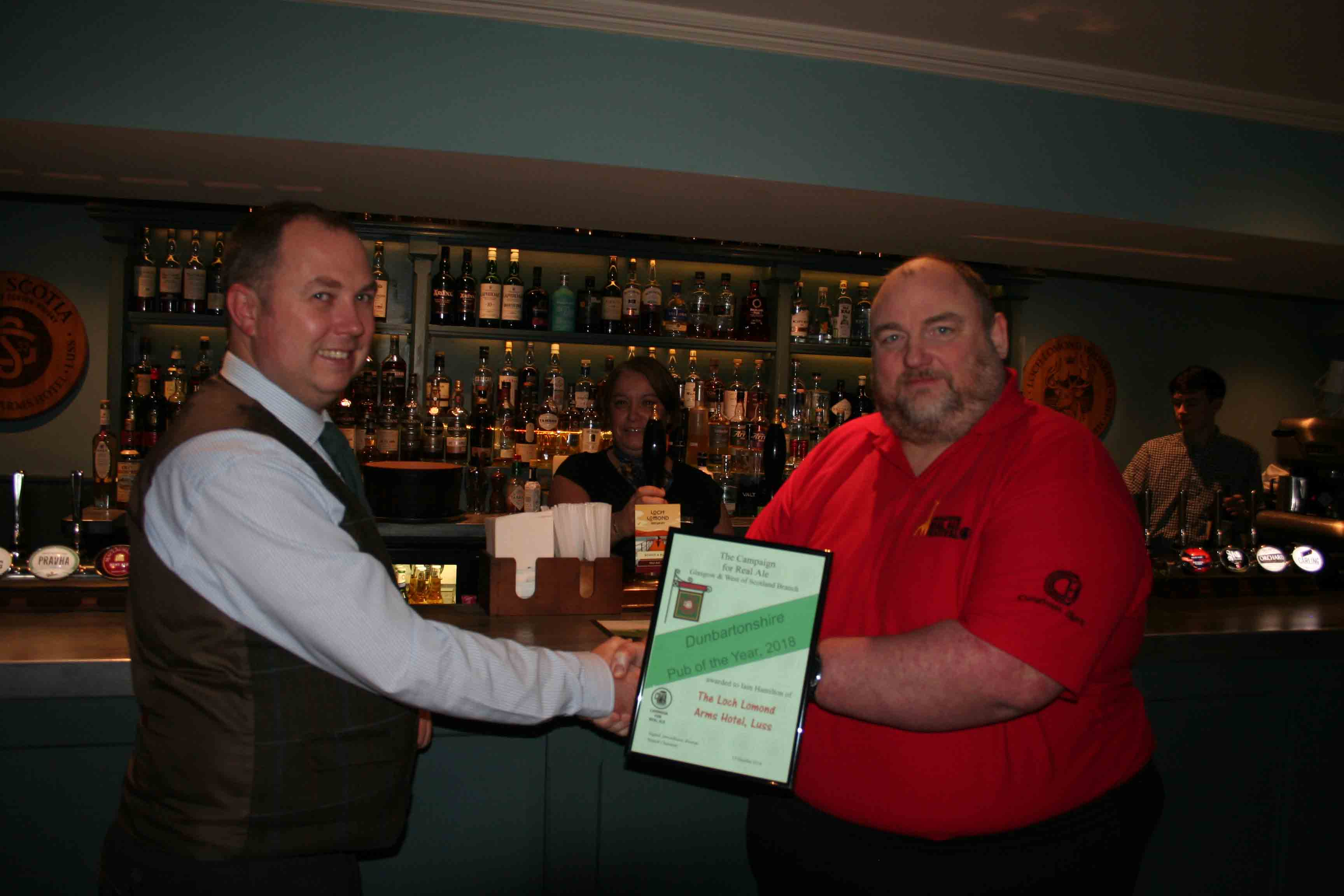 Dunbartonshire Pub of the Year