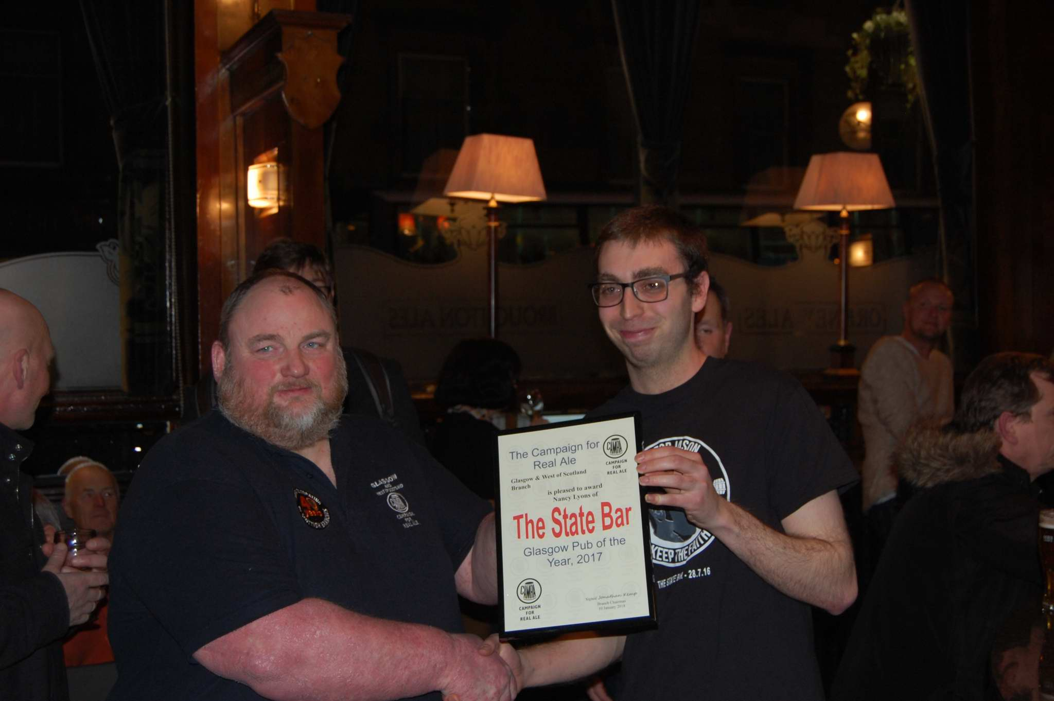 Glasgow Pub of the Year 2017