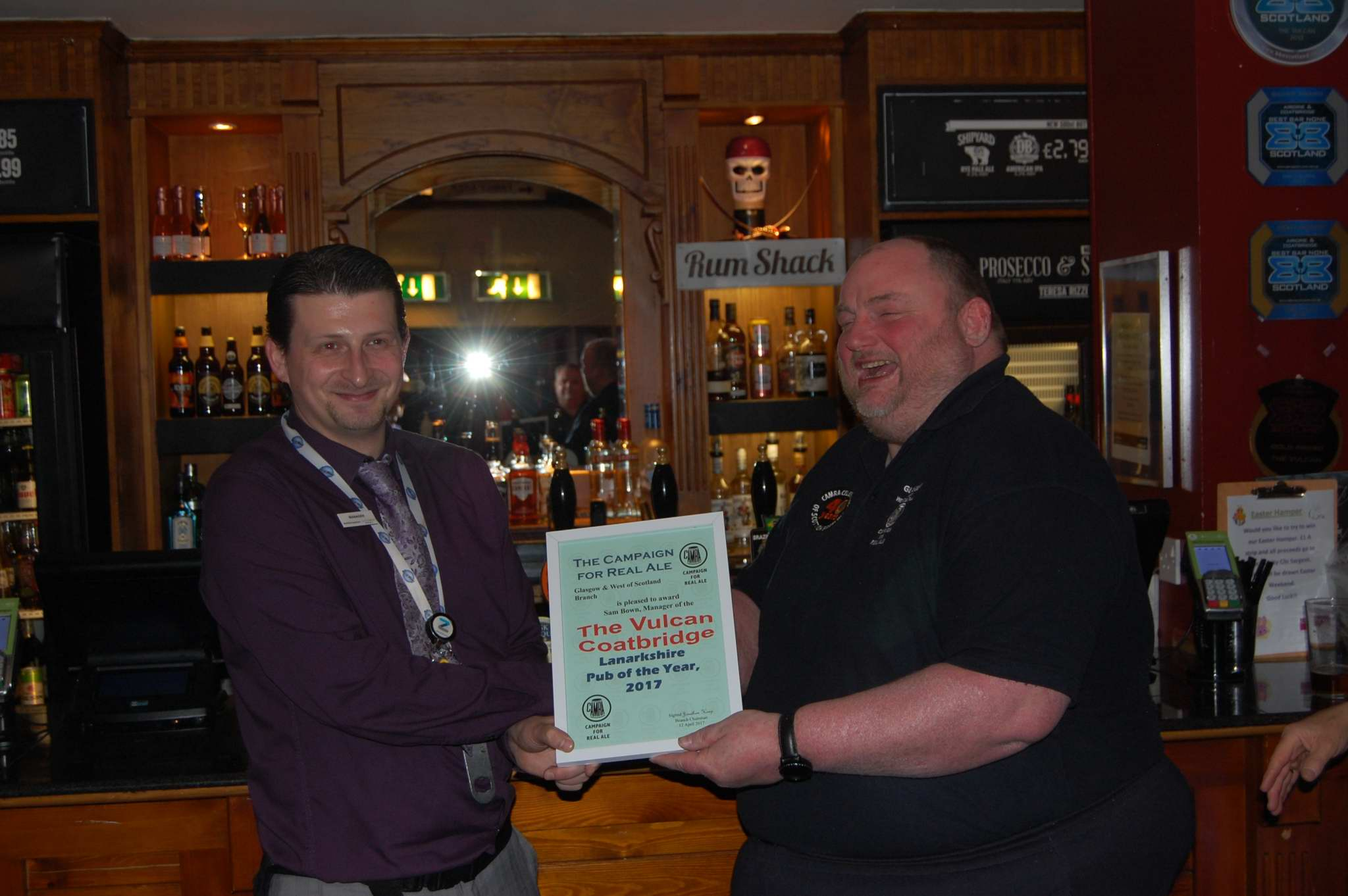 2017 Lanarkshire Pub of the Year