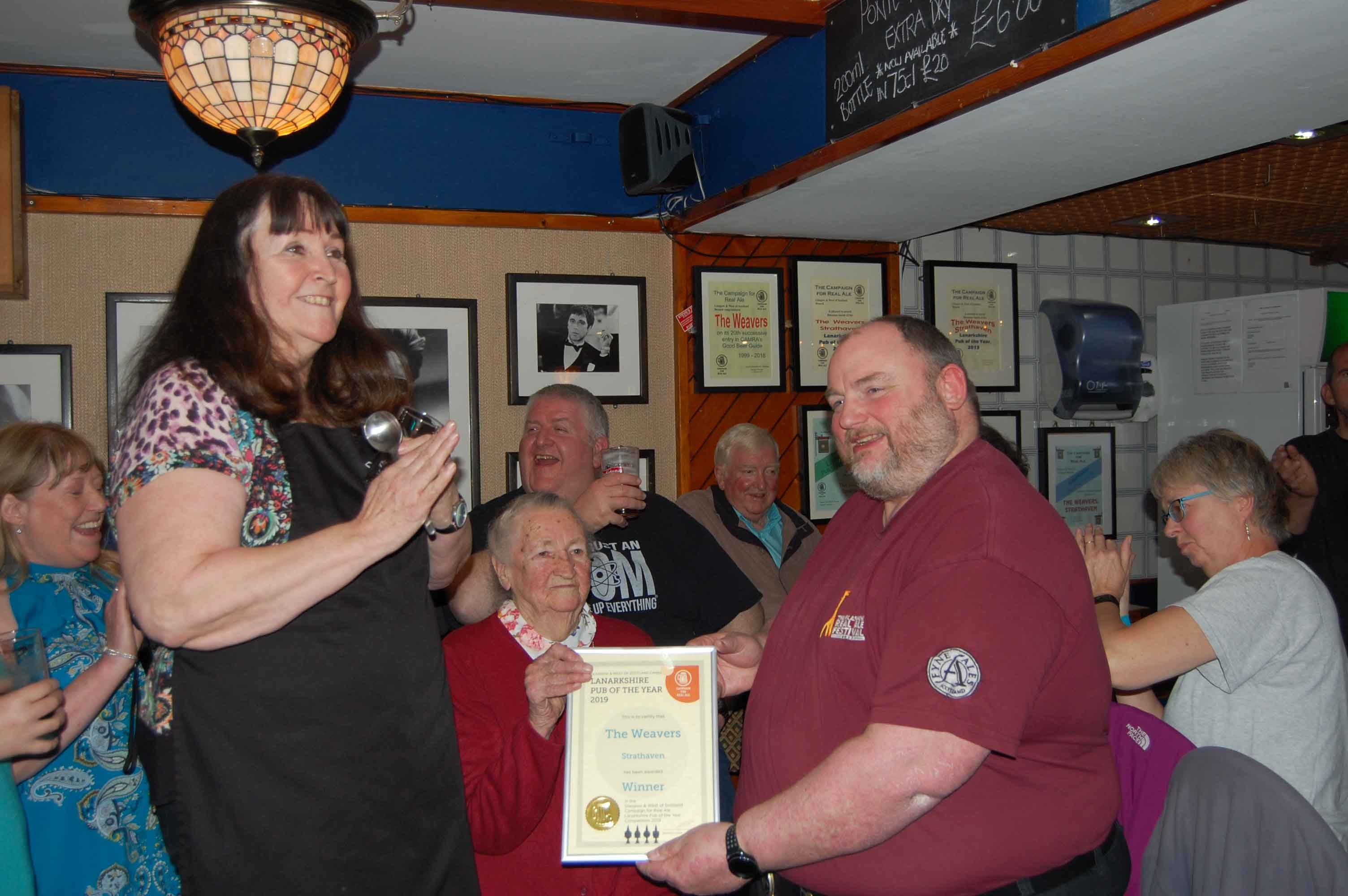 2019 Lanarkshire Pub of the Year